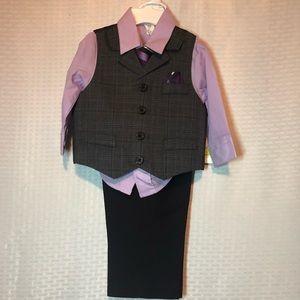 Baby Boy 4Piece Suit-18M NWT
